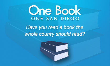One book, one san diego logo